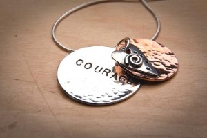 """The """"Courage Within"""" Necklace"""